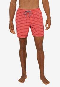 Protest - SHARIF - Swimming shorts - deep coral - 1