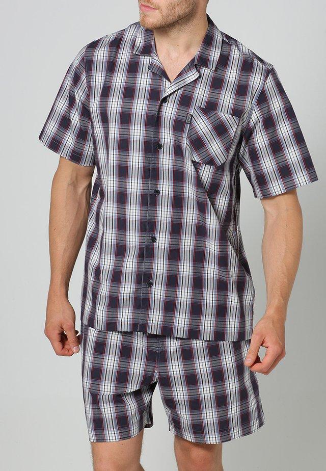 PYJAMA 1/2 WOVEN - Pyjamas - red/white