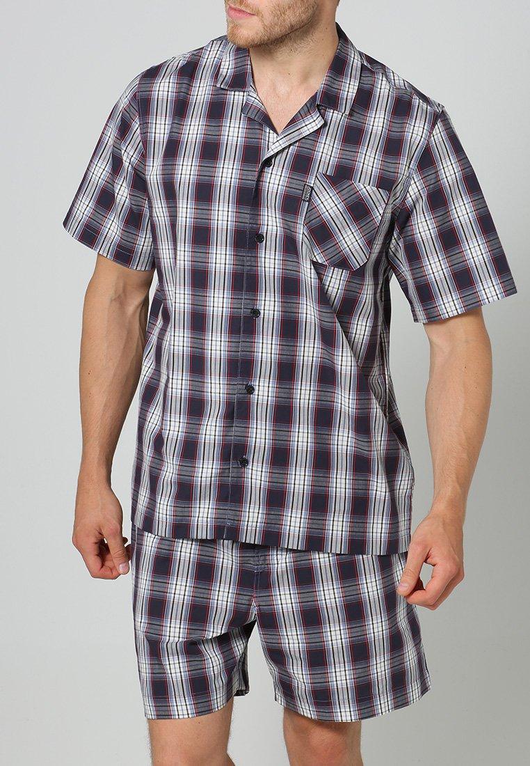 Jockey - PYJAMA 1/2 WOVEN - Pyjama set - red/white