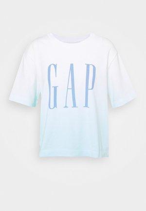 BOXY TEE - Camiseta estampada - blue