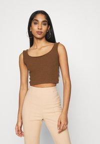 Monki - SAY - Linne - brown