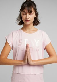 Esprit Sports - Print T-shirt - light pink - 0