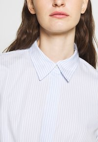 Lauren Ralph Lauren - BROADCLOTH DRESS - Vestido camisero - blue/white - 5