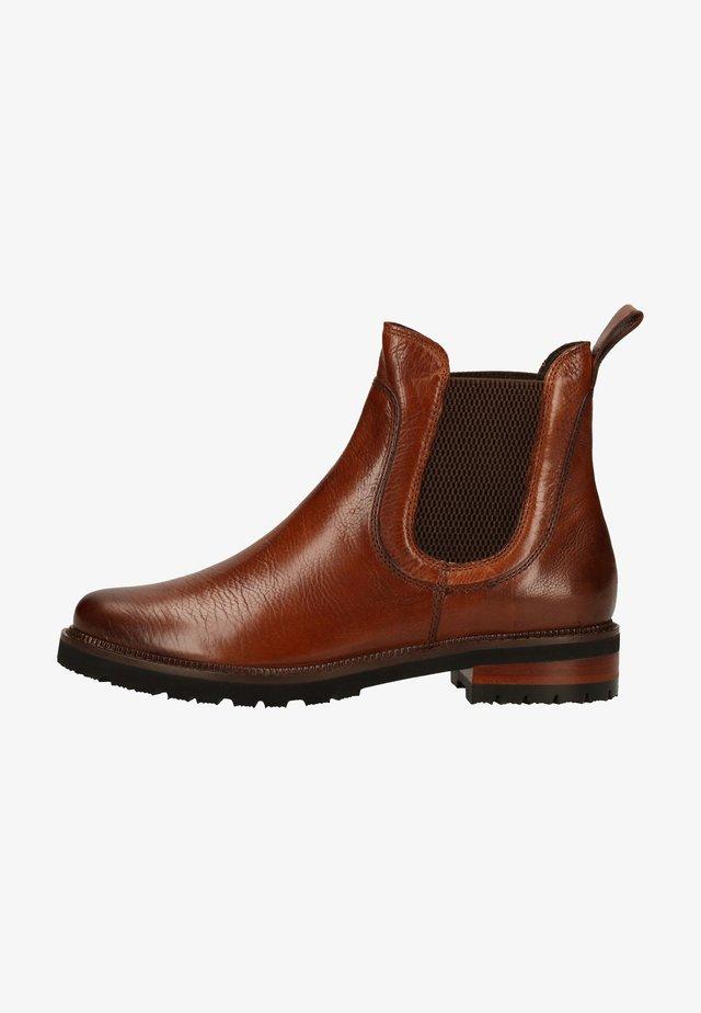 NAWRA - Classic ankle boots - ginger gianduia