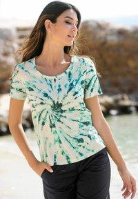 Alba Moda - Print T-shirt - beige - 1