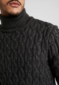 Pier One - Jersey de punto - mottled dark grey - 5
