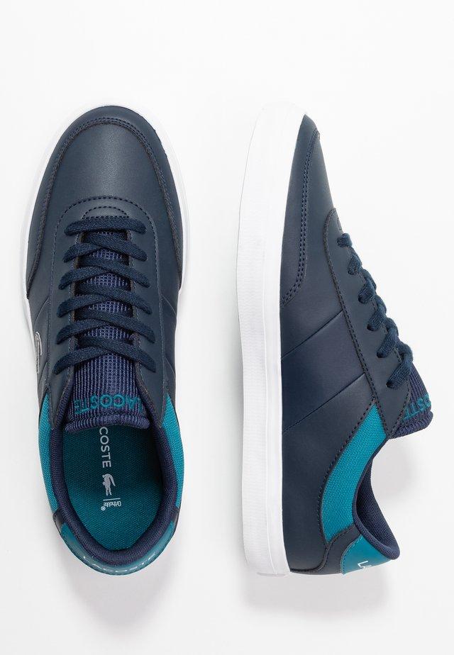 COURT MASTER  - Sneakers laag - navy/dark turquoise