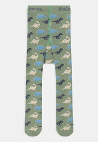 Ewers - DINO 2 PACK - Tights - green - 2