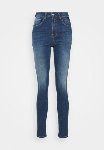 LEYLA PANTS - Jeans Skinny Fit - dark blue