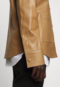 Rika - PARIS JACKET - Leather jacket - light brown - 7