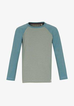 Long sleeved top - moos arctic blue