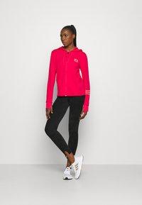 adidas Performance - Zip-up hoodie - power pink/signal pink - 1
