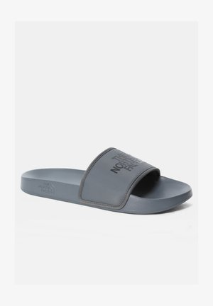 M BASE CAMP SLIDE III - Chanclas de baño - zinc grey  tnf black
