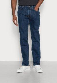 Lee - BROOKLYN STRAIGHT - Straight leg jeans - dark stone - 0