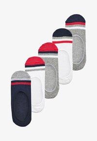 Next - 5 PACK  - Trainer socks - multi-coloured - 0