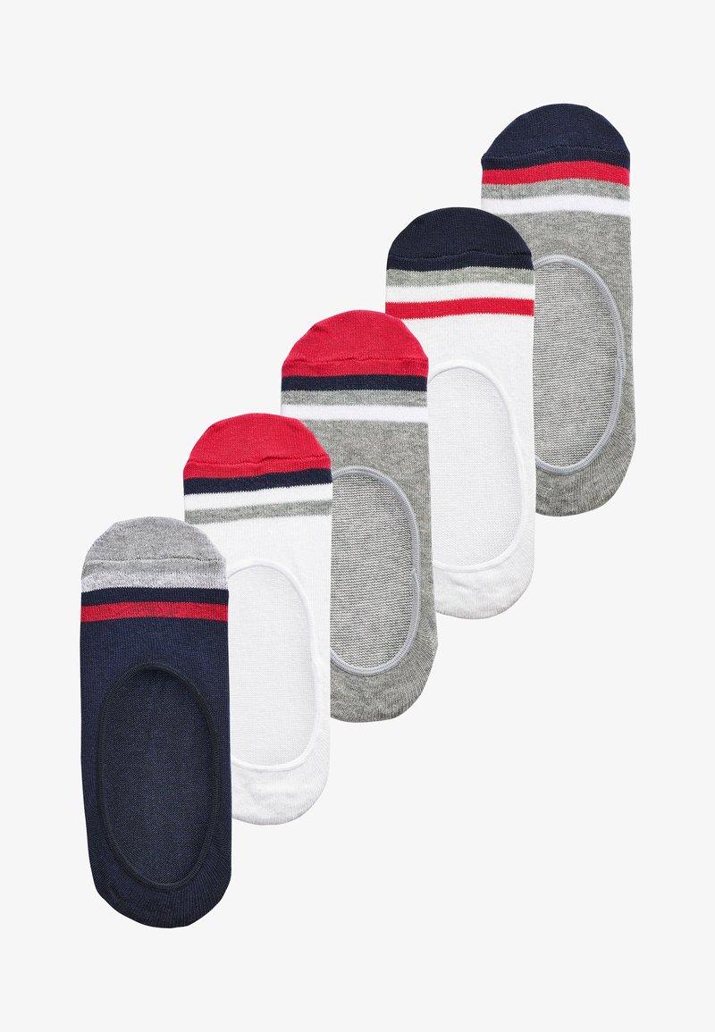 Next - 5 PACK  - Trainer socks - multi-coloured