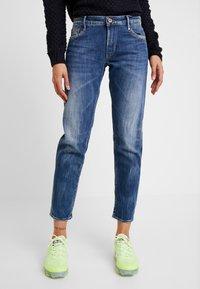 Le Temps Des Cerises - Jeans Straight Leg - blue - 0