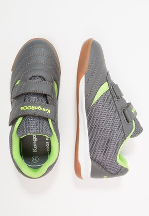 CHELO COMB - Trainers - steel grey/lime