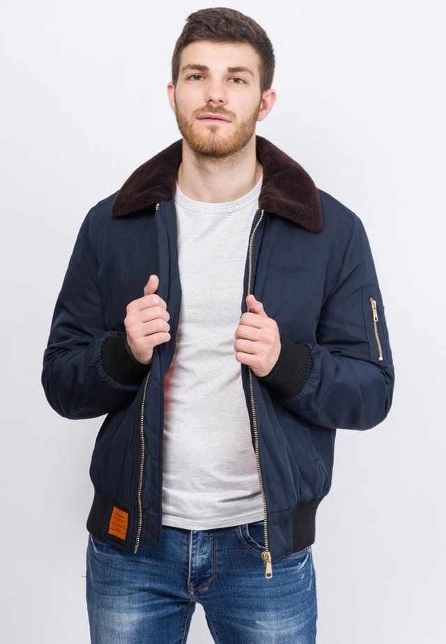 CURTISS - Veste mi-saison - navy