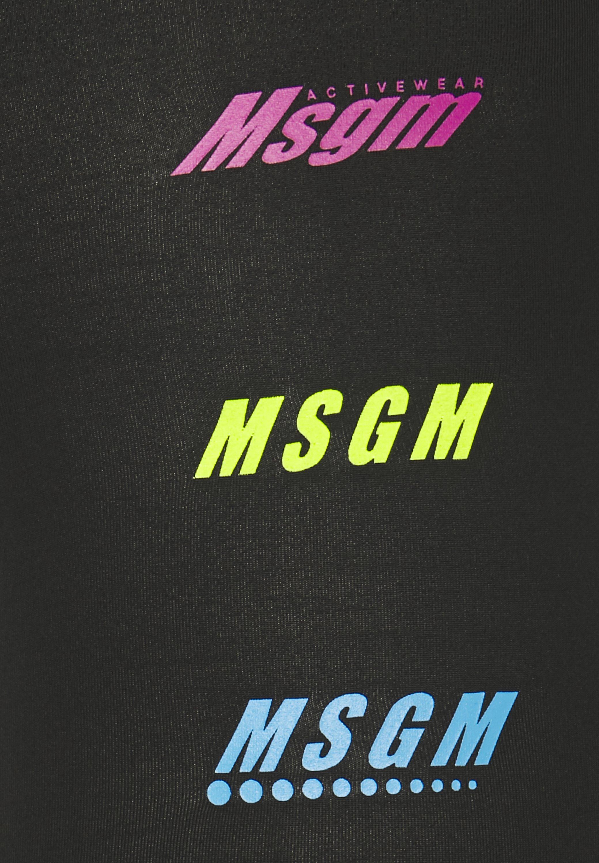 MSGM PANTALONE - Leggings - black RFXnF