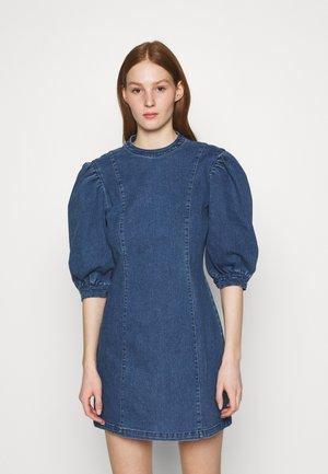 ONLDREAMY  - Denim dress - medium blue denim