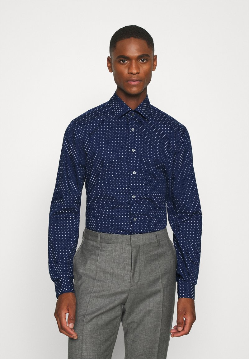 Calvin Klein Tailored - EASY CARE FITTED SHIRT - Shirt - blue