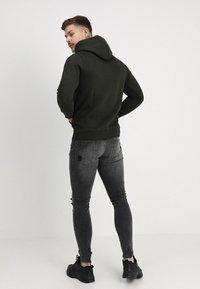 Pier One - Skinny džíny - black denim - 2
