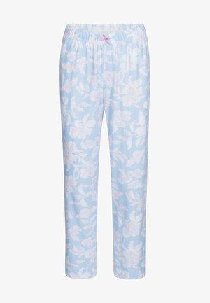 7/8 LENGTH - Pyjama bottoms - arctic blue