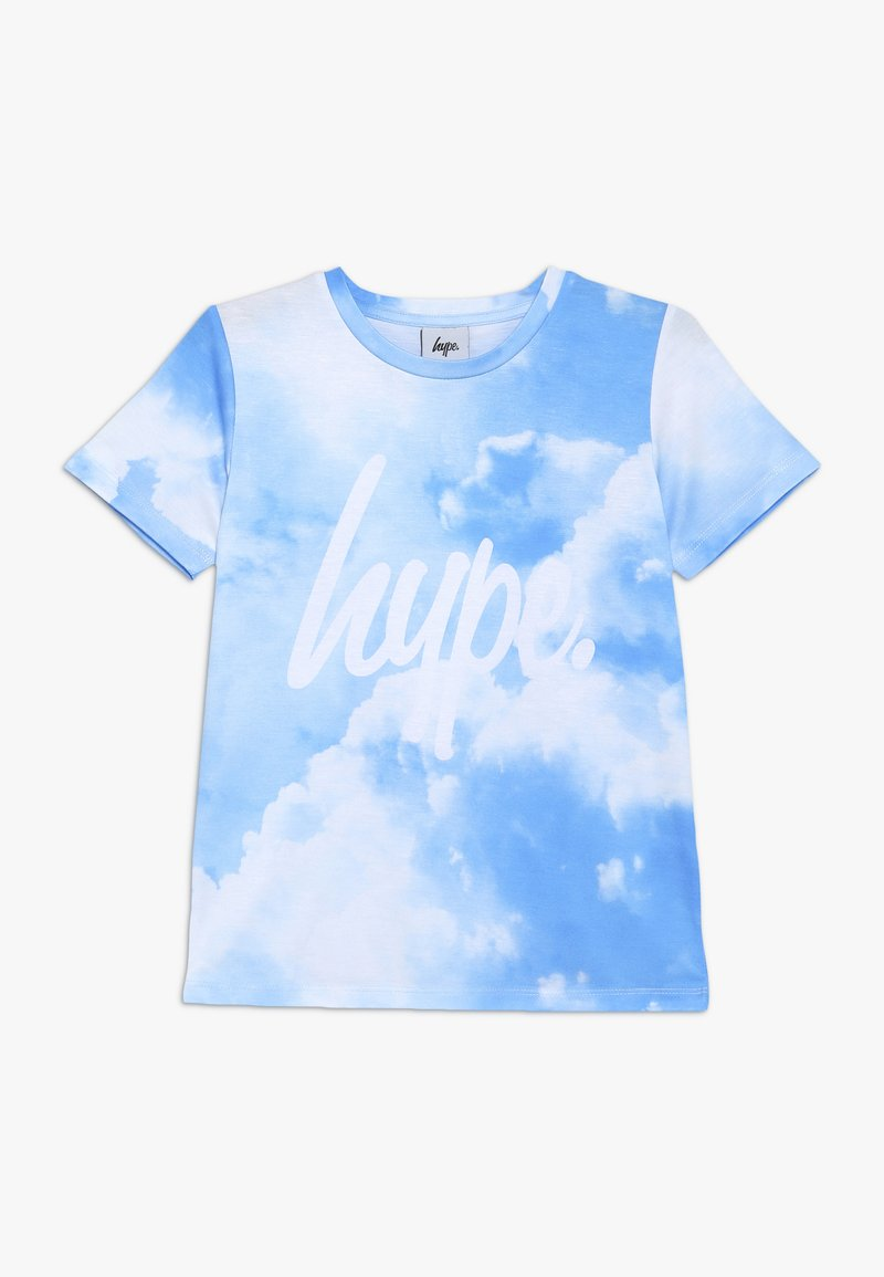 Hype - KIDS CLOUDS - Print T-shirt - blue