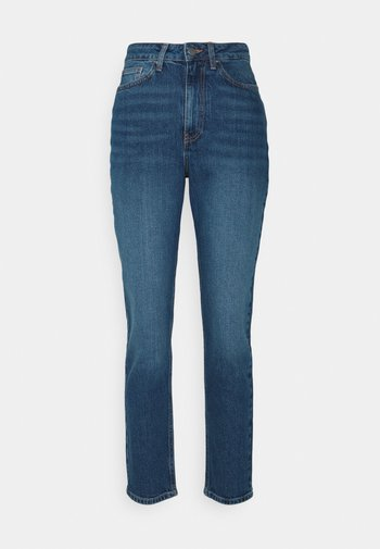 Mom fit jeans - Straight leg jeans - blue denim