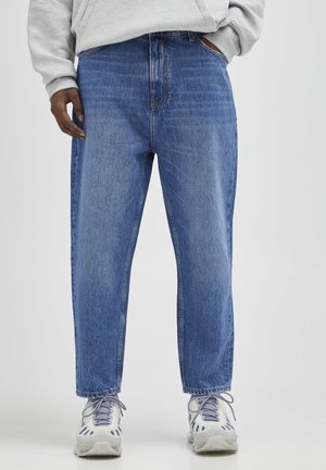 Jeansy Relaxed Fit - mottled blue