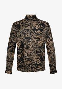 Esprit - MIT BOTANIK-PRINT - Shirt - black - 7