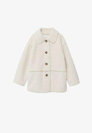 Fleece jacket - cremeweiß