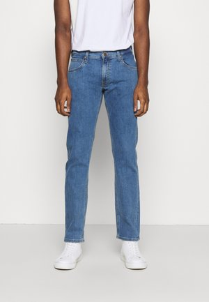 DAREN ZIP FLY - Jeans straight leg - light stone