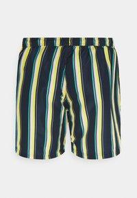 Jack & Jones - JJIBALI JJSWIMSHORTS STRIPE - Swimming shorts - navy blazer - 1