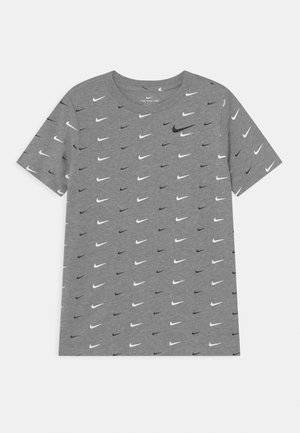 Print T-shirt - dark grey heather