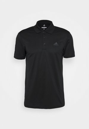 PERFORMANCE SPORTS GOLF SHORT SLEEVE - Koszulka polo - black