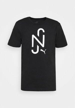 NEYMAR JR LOGO TEE - T-shirts print - black