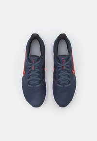 Nike Performance - DOWNSHIFTER 11 - Zapatillas de running neutras - thunder blue/chile red/pure platinum/off noir/white - 3