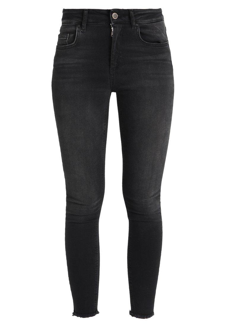 ONLBLUSH RAW - Skinny džíny - black denim