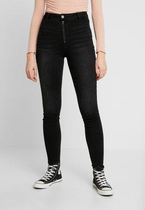 VICOMMIT - Jeans Skinny Fit - black denim