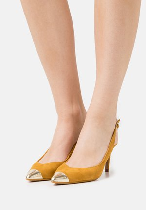 KINNIP - Classic heels - yellow