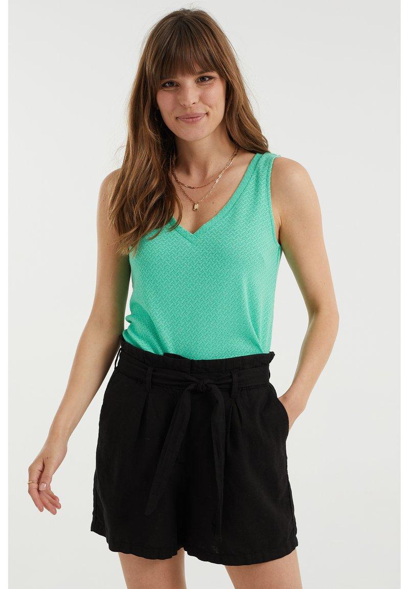 WE Fashion - Top - bright green