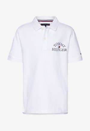 ESSENTIAL LOGO CHEST - Poloshirt - white