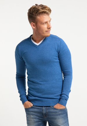 Sweter - azure blue