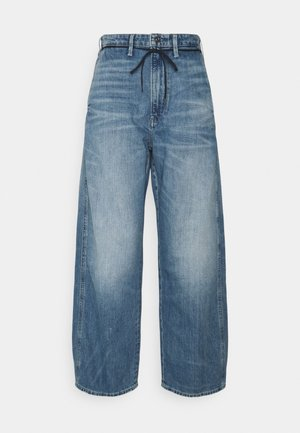 LINTELL HIGH DAD - Relaxed fit jeans - faded tide