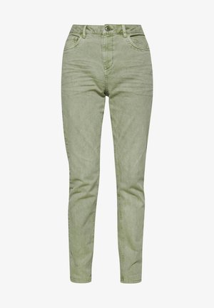 MODERN - Jeans Tapered Fit - khaki green