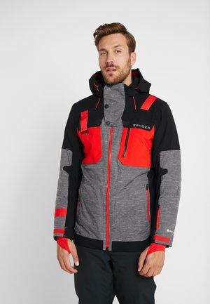 TORDRILLO - Ski jacket - novelty ebony