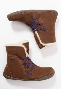 Camper - PEU CAMI - Lace-up ankle boots - brown - 3