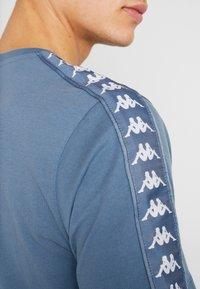 Kappa - GRENNER - Print T-shirt - dark blue - 5